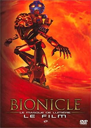 Poster promotionnel pour le premier film BIONICLE : Le masque de lumière