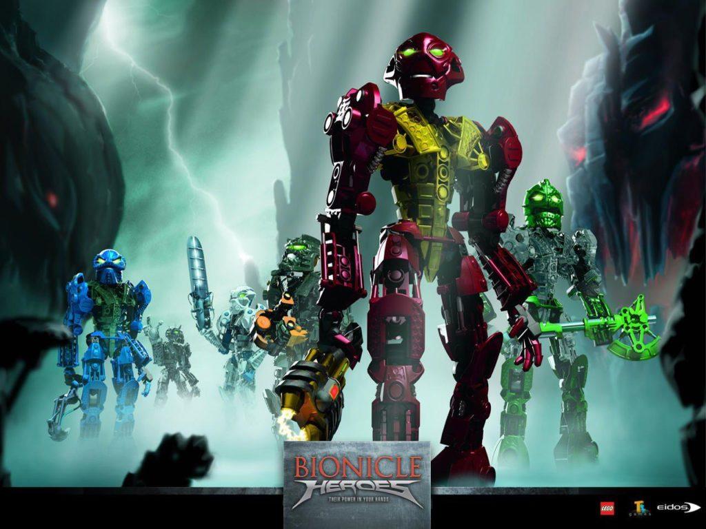 Image promotionnelle de BIONICLE Heroes, le jeu vidéo sorti en 2006