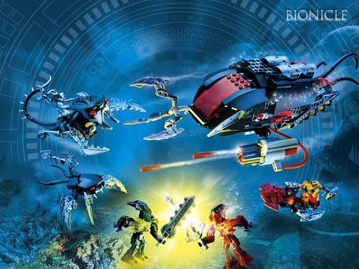 Image promotionnelle d'un playset BIONICLE de 2007